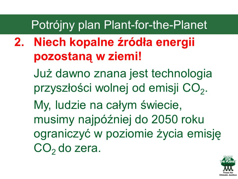 Potrójny plan Plant-for-the-Planet