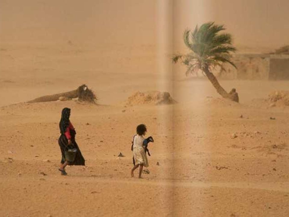 31.03.2017 … czy też w postaci rozprzestrzeniających się pustyń w Afryce.