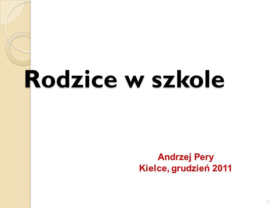Rodzice w szkole Andrzej Pery Kielce, grudzień 2011