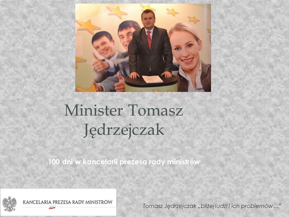 Minister Tomasz Jędrzejczak