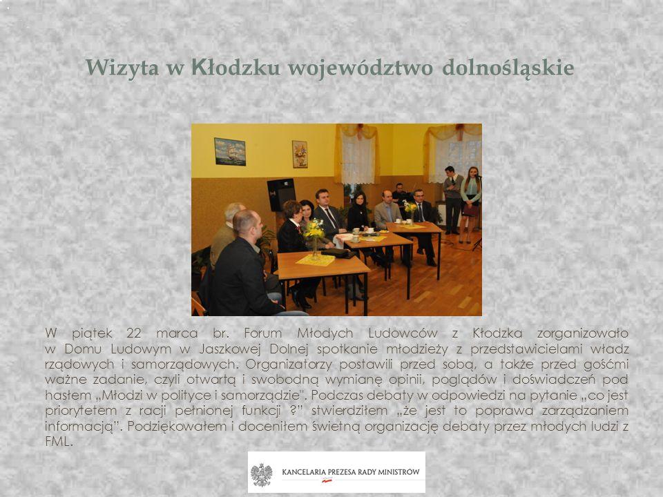 Wizyta w Kłodzku województwo dolnośląskie
