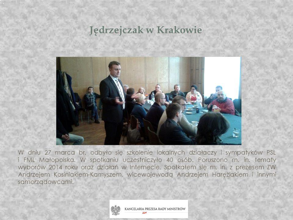 Jędrzejczak w Krakowie