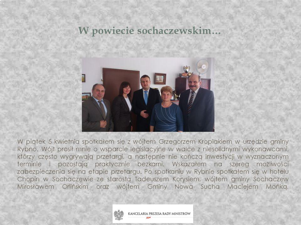 W powiecie sochaczewskim…