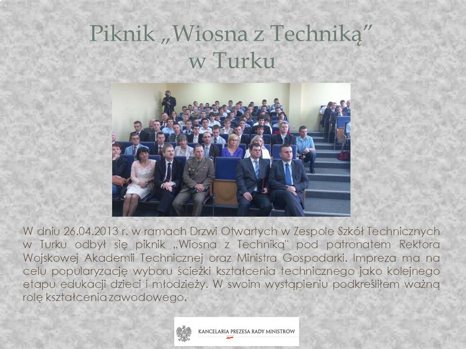 """Piknik """"Wiosna z Techniką w Turku"""