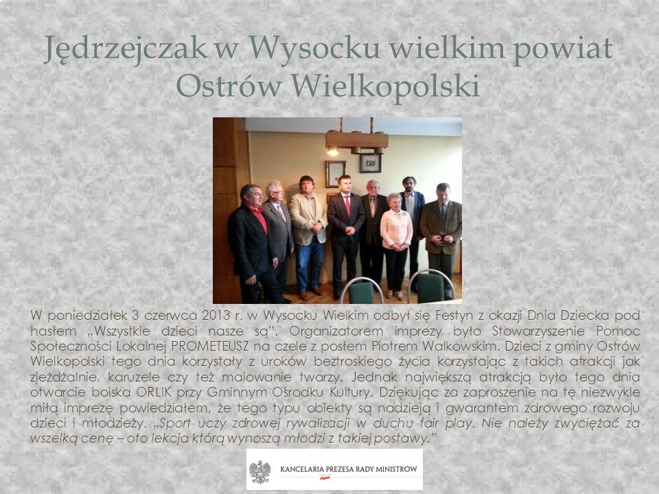 Jędrzejczak w Wysocku wielkim powiat Ostrów Wielkopolski