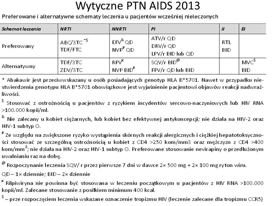 Wytyczne PTN AIDS 2013
