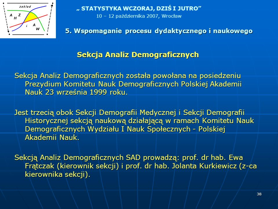 Sekcja Analiz Demograficznych