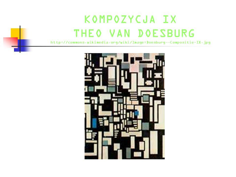 KOMPOZYCJA IX THEO VAN DOESBURG http://commons. wikimedia