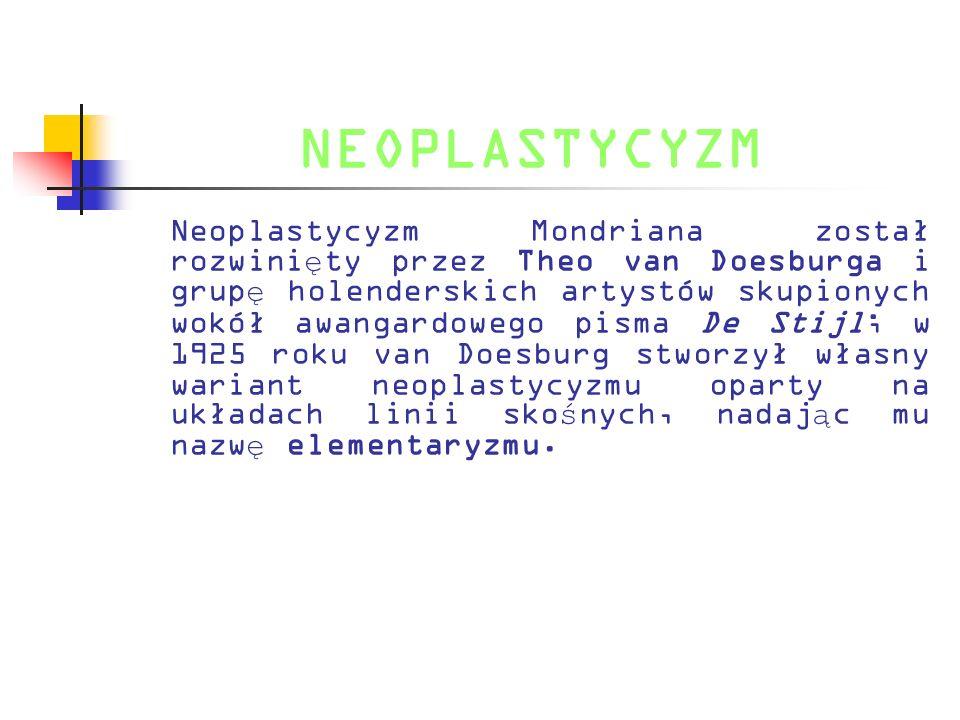 NEOPLASTYCYZM