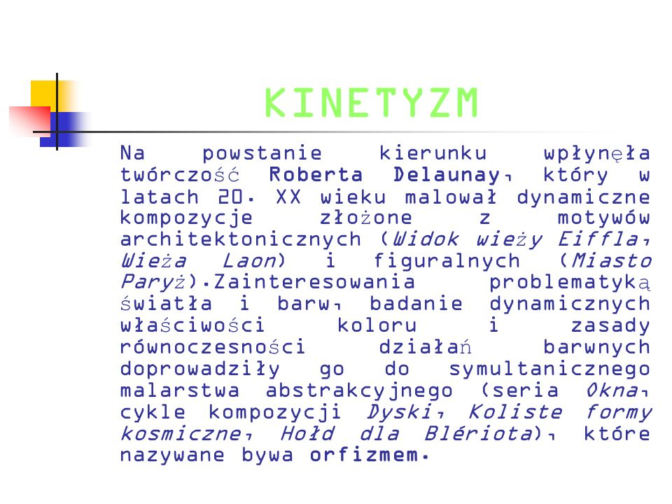 KINETYZM