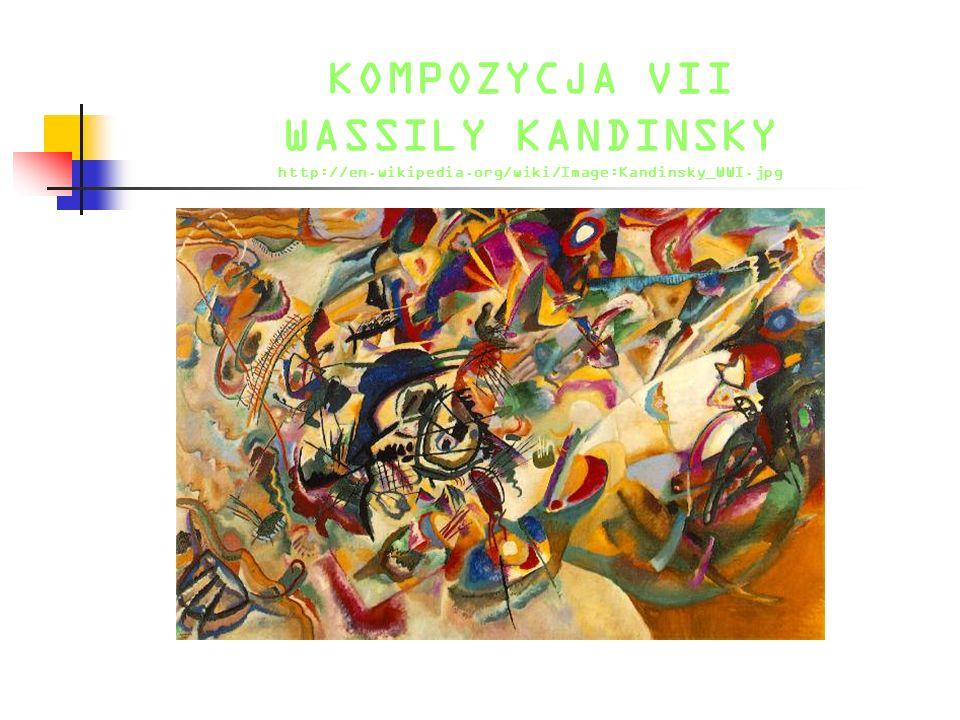 KOMPOZYCJA VII WASSILY KANDINSKY http://en. wikipedia
