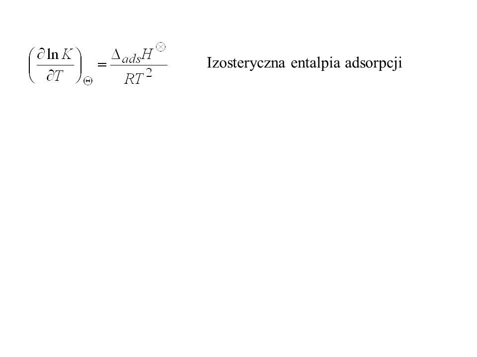 Izosteryczna entalpia adsorpcji