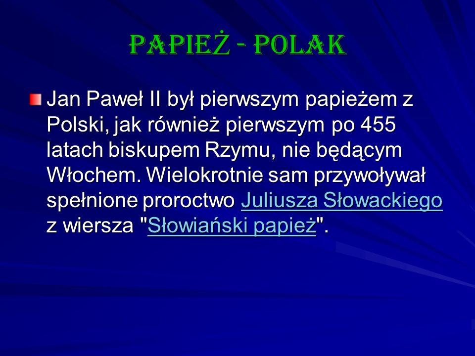 papieŻ - polak