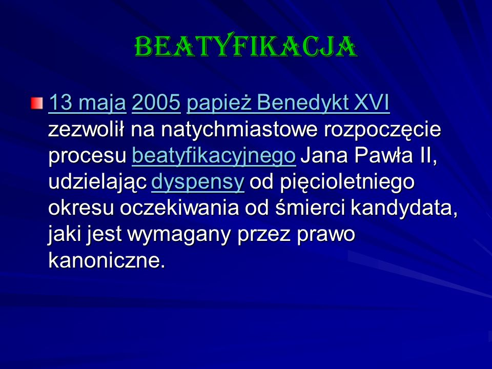 beatyfikacja
