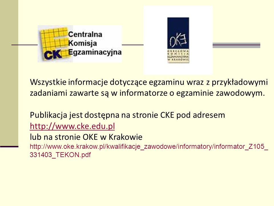 lub na stronie OKE w Krakowie
