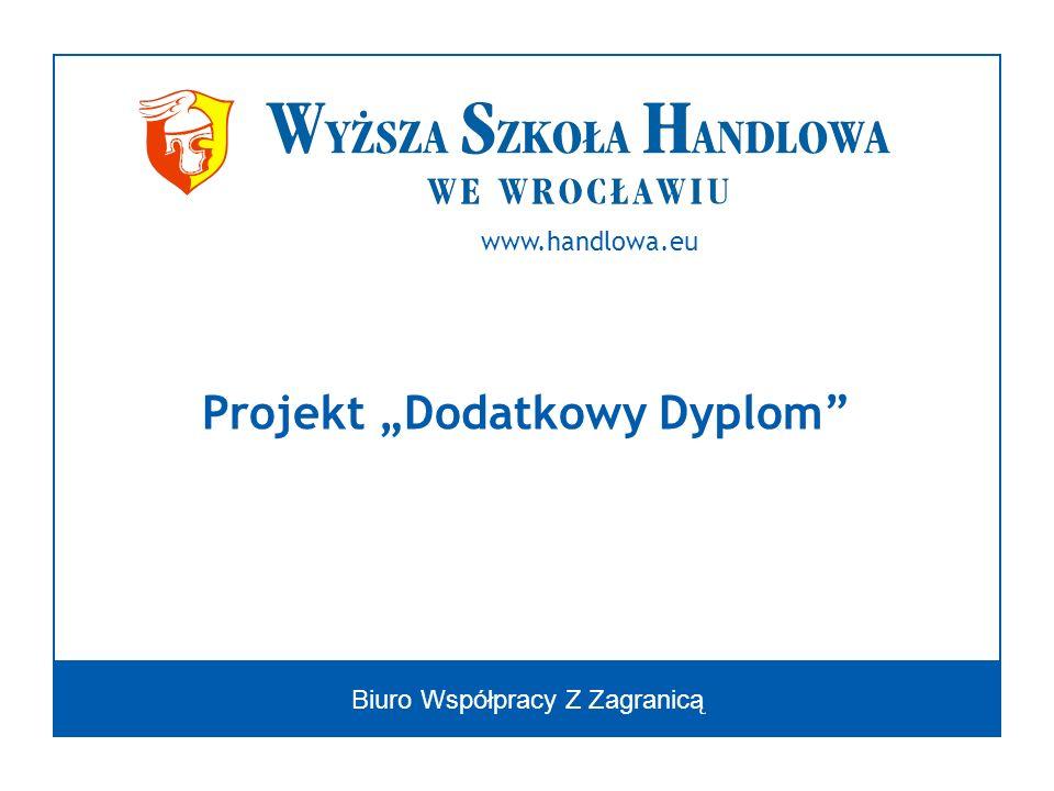 """Projekt """"Dodatkowy Dyplom"""