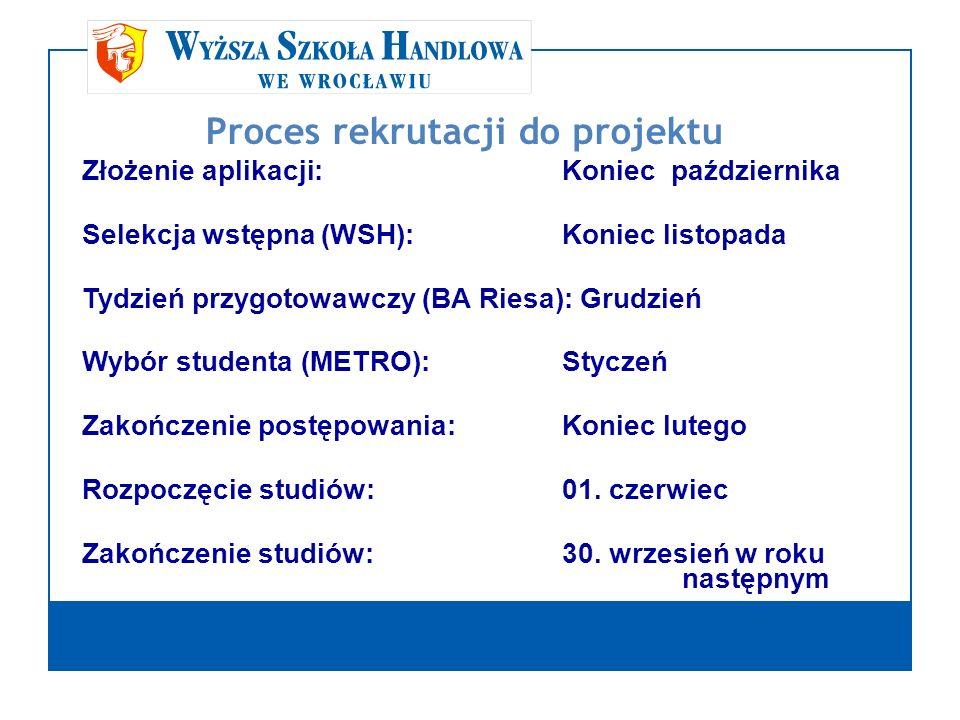 Proces rekrutacji do projektu