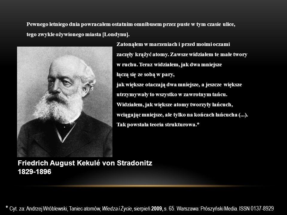 Friedrich August Kekulé von Stradonitz 1829-1896