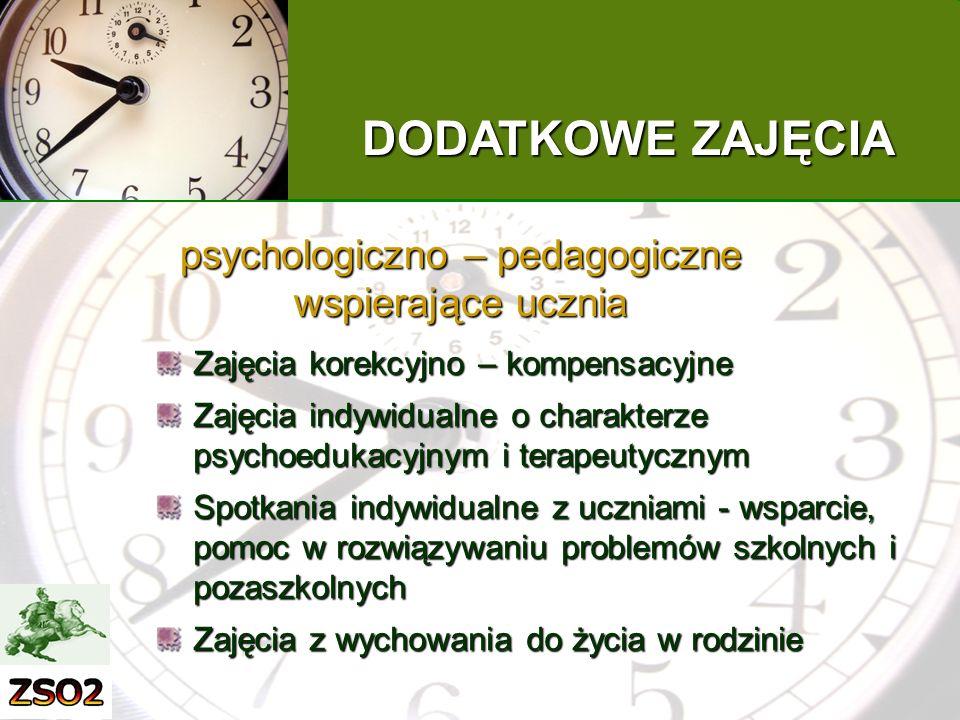 psychologiczno – pedagogiczne