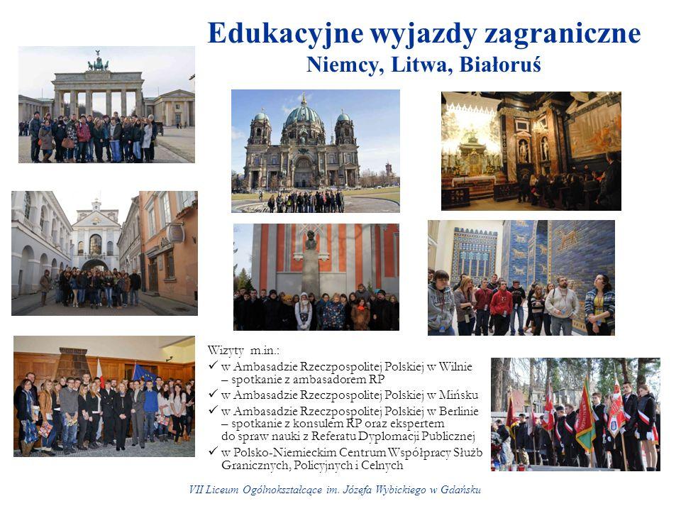 Edukacyjne wyjazdy zagraniczne Niemcy, Litwa, Białoruś