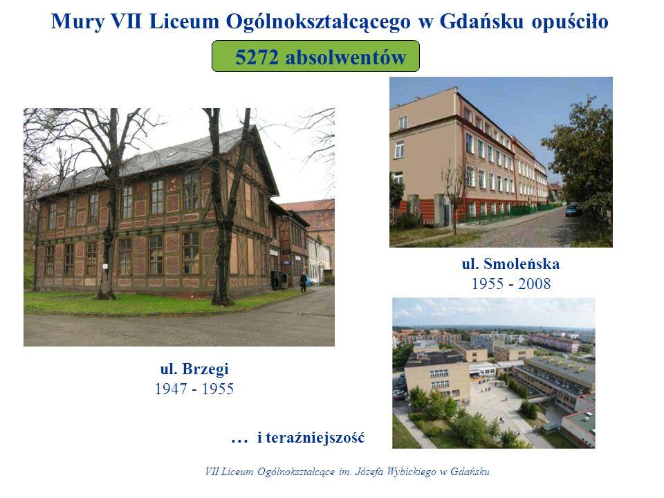Mury VII Liceum Ogólnokształcącego w Gdańsku opuściło