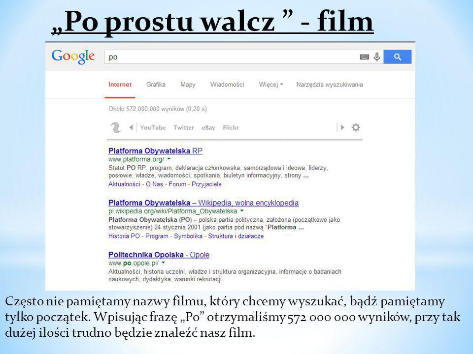 """""""Po prostu walcz - film"""