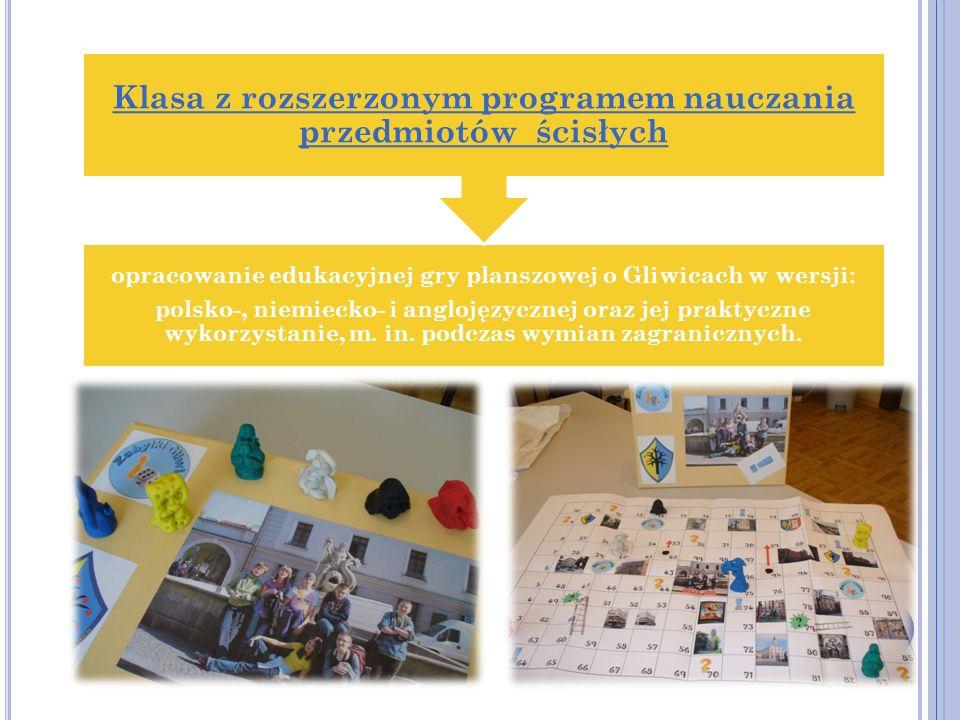 Klasa z rozszerzonym programem nauczania przedmiotów ścisłych
