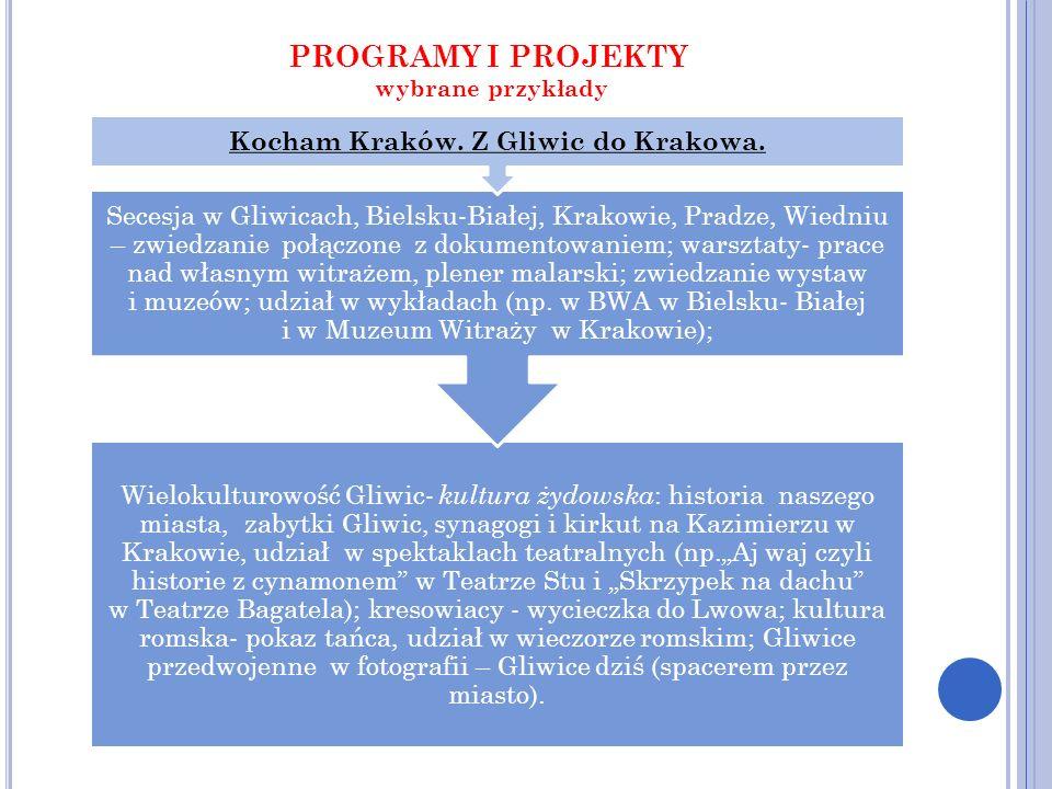 Kocham Kraków. Z Gliwic do Krakowa.