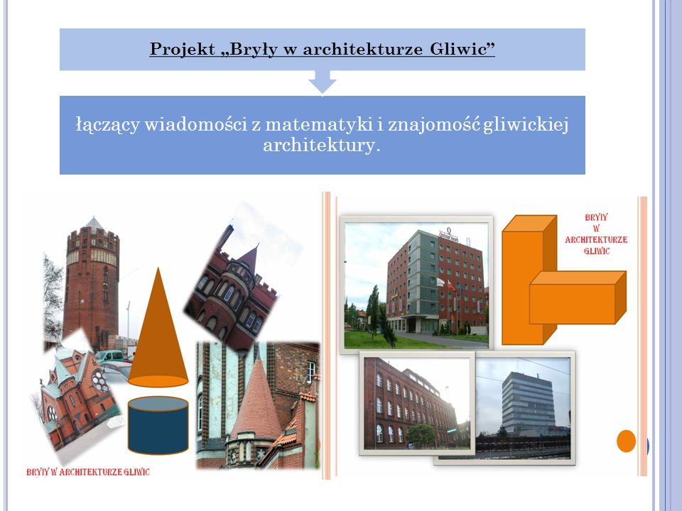 """Projekt """"Bryły w architekturze Gliwic"""
