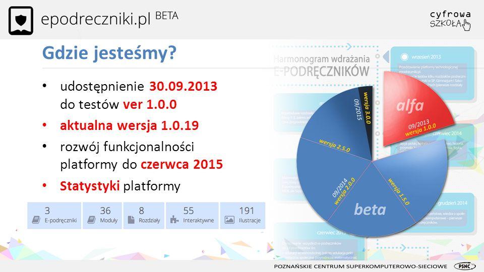 Gdzie jesteśmy udostępnienie 30.09.2013 do testów ver 1.0.0