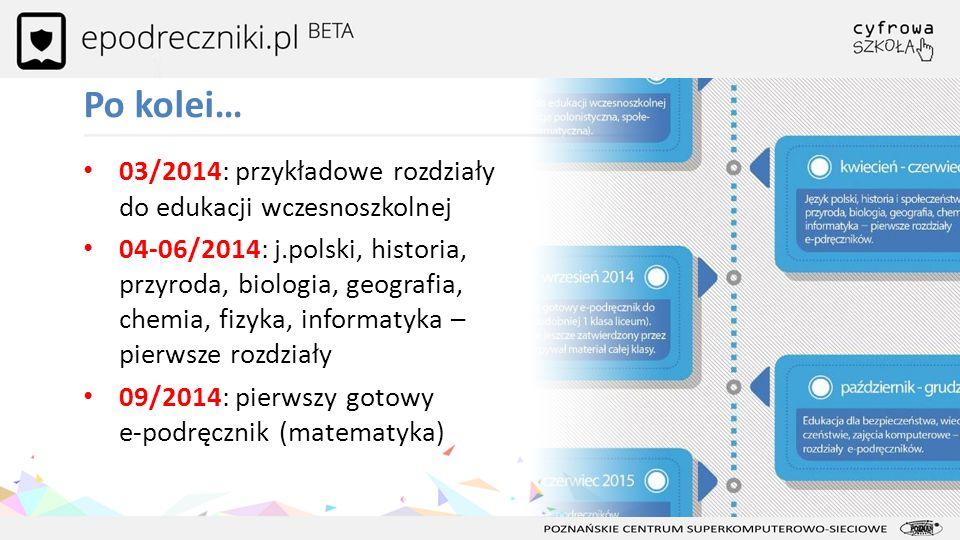 Po kolei… 03/2014: przykładowe rozdziały do edukacji wczesnoszkolnej