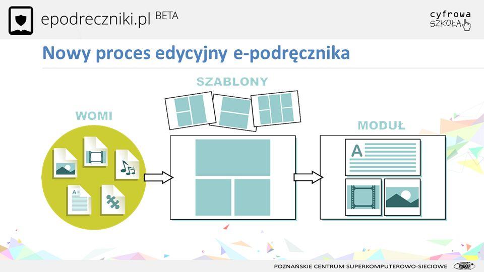 Nowy proces edycyjny e-podręcznika