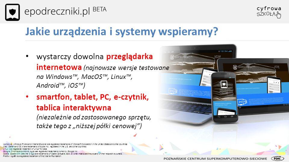 Jakie urządzenia i systemy wspieramy