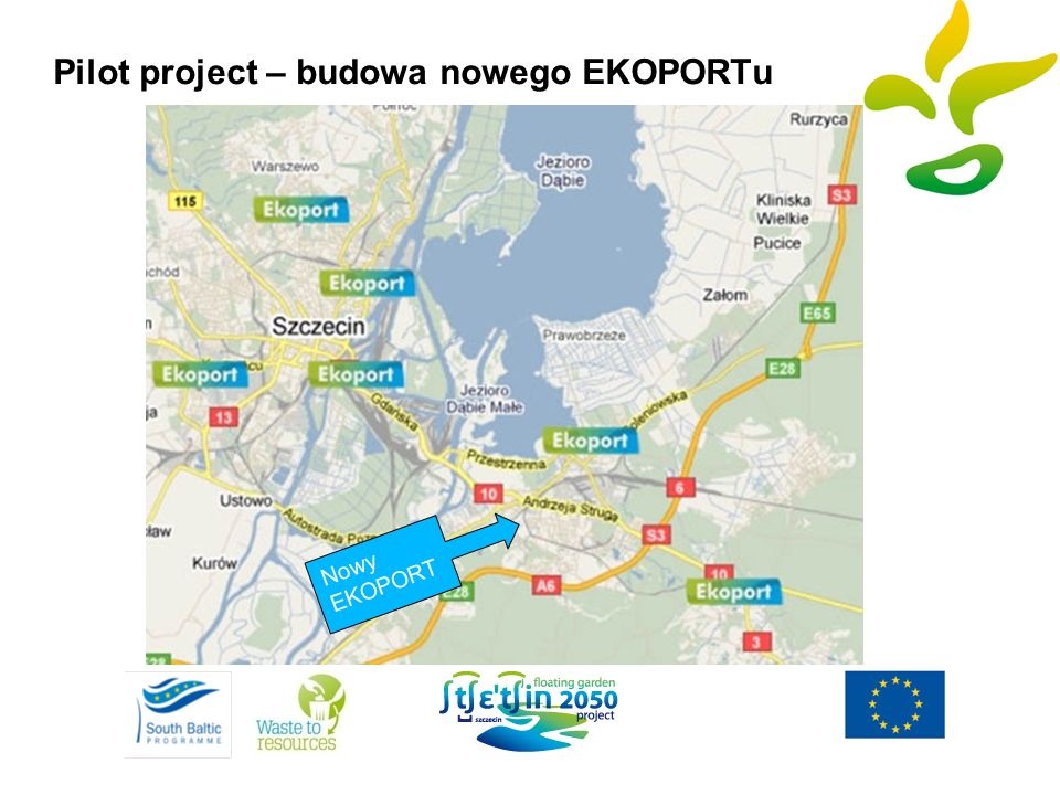 Pilot project – budowa nowego EKOPORTu