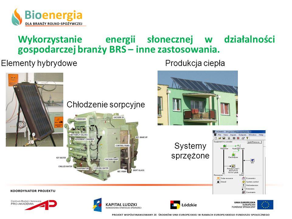 Wykorzystanie energii słonecznej w działalności gospodarczej branży BRS – inne zastosowania.