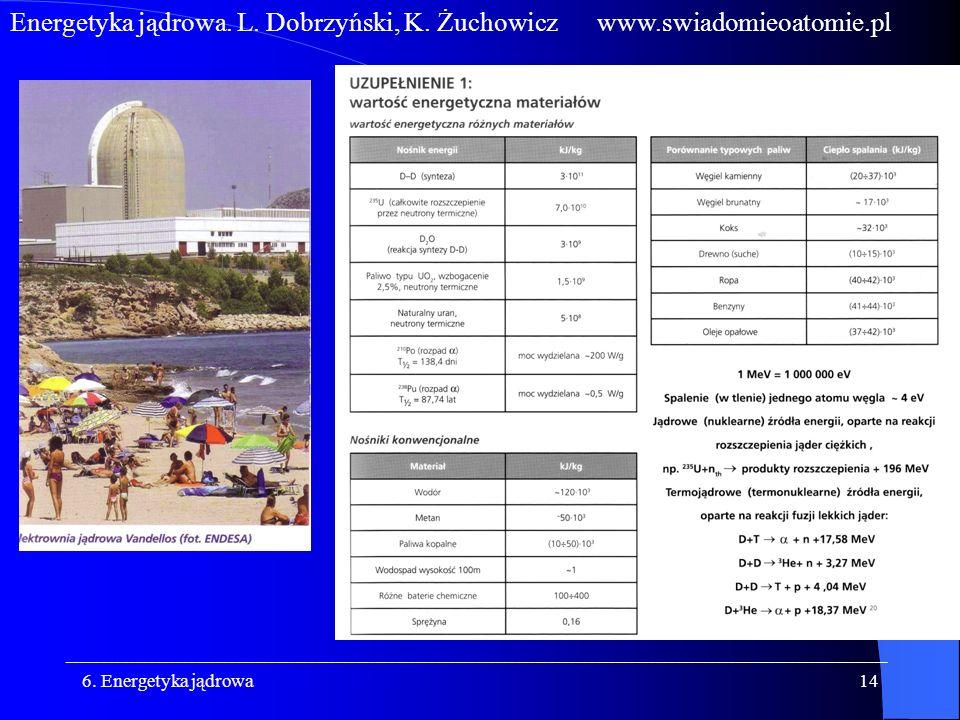 Energetyka jądrowa. L. Dobrzyński, K. Żuchowicz