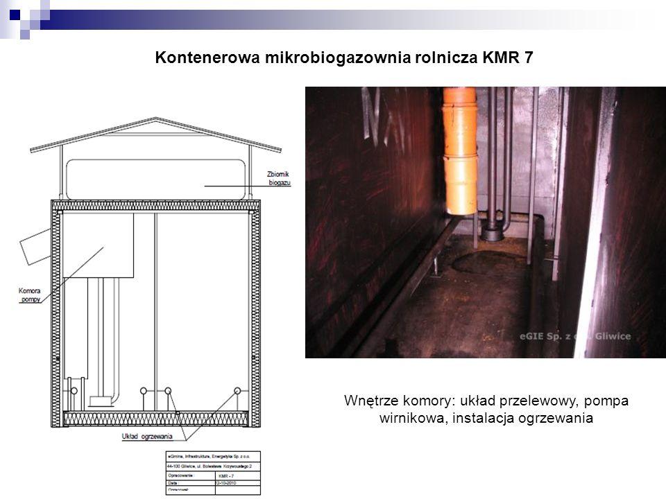 Kontenerowa mikrobiogazownia rolnicza KMR 7