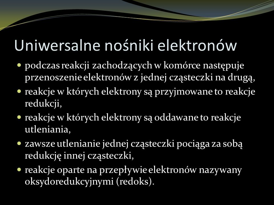 Uniwersalne nośniki elektronów