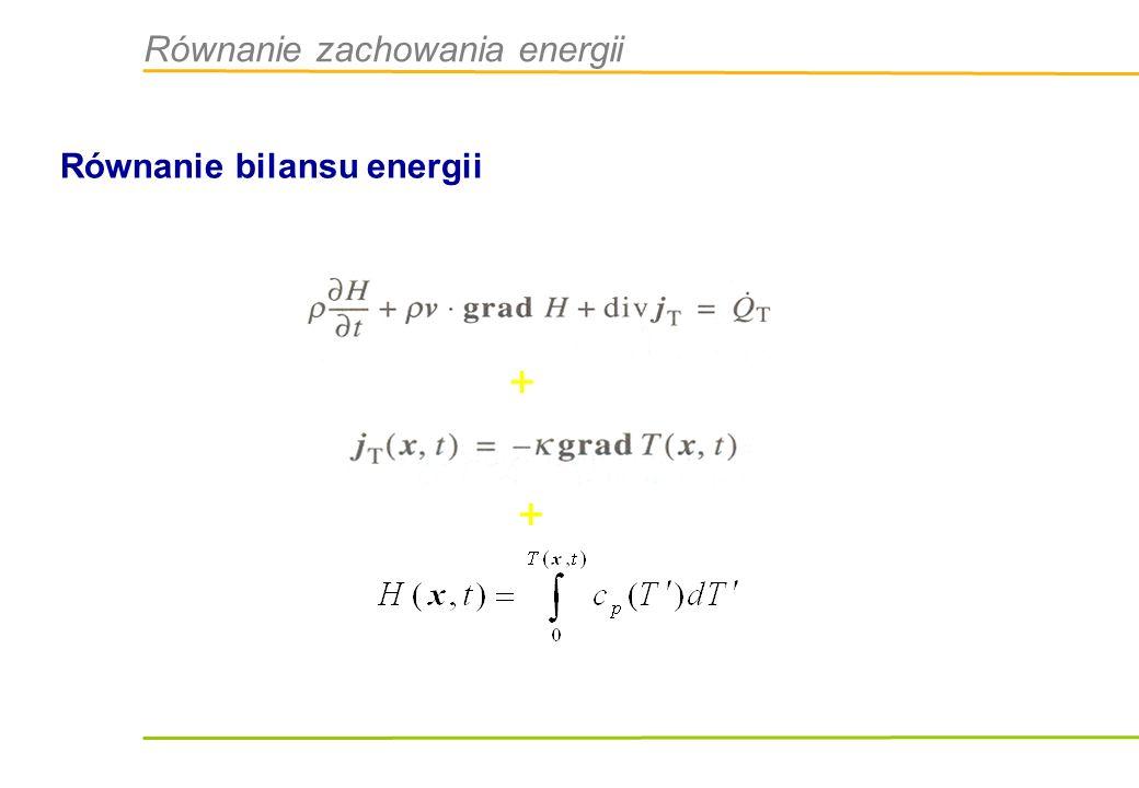 Równanie zachowania energii