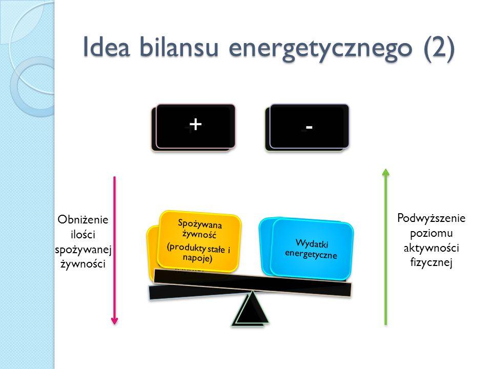 Idea bilansu energetycznego (2)