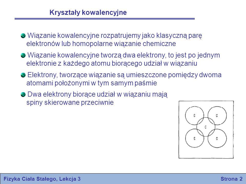 Fizyka Ciała Stałego, Lekcja 3 Strona 2