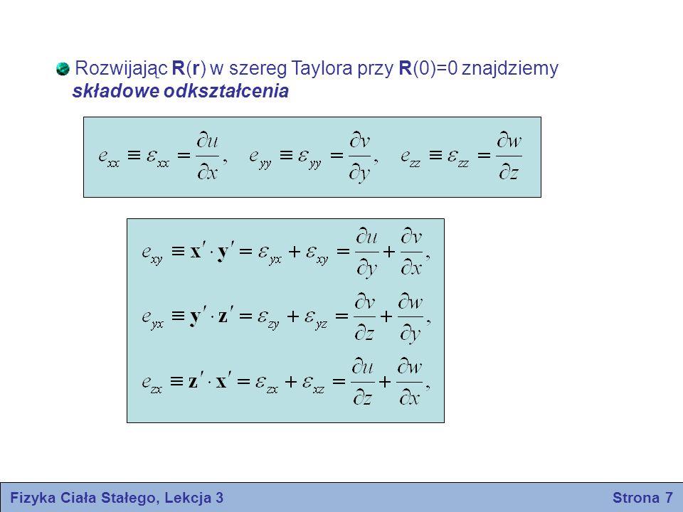Fizyka Ciała Stałego, Lekcja 3 Strona 7