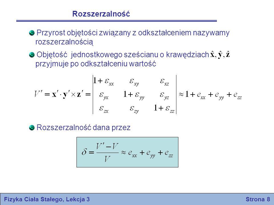 Fizyka Ciała Stałego, Lekcja 3 Strona 8