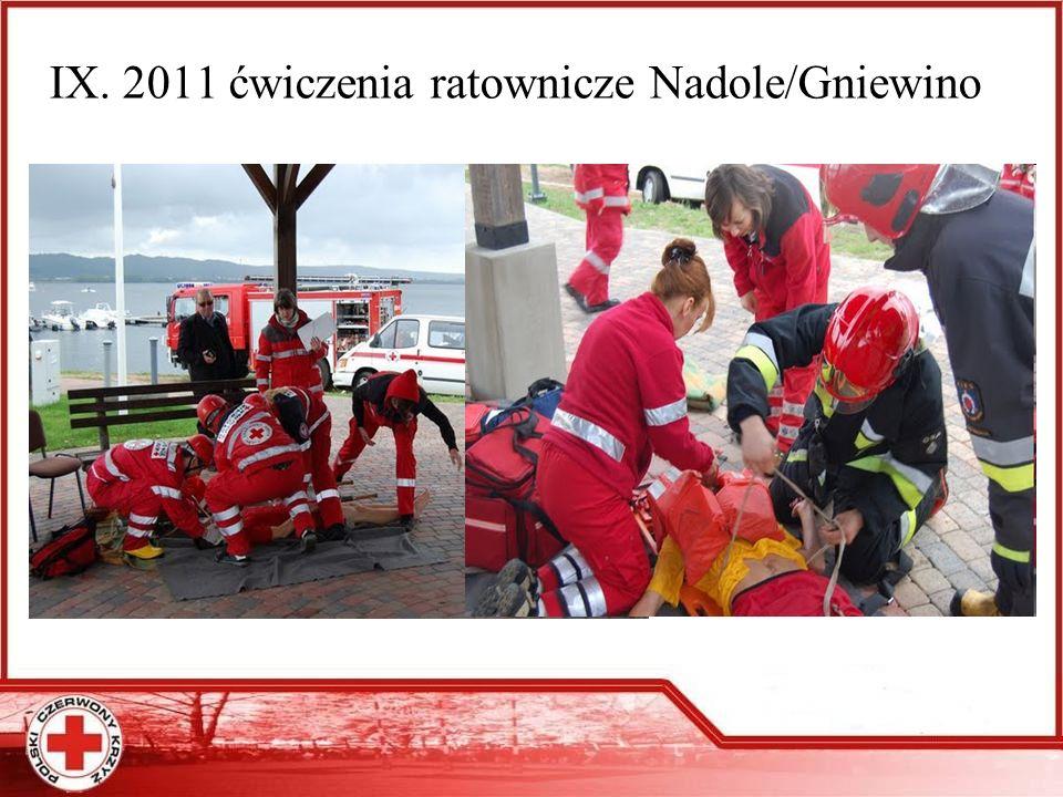 IX. 2011 ćwiczenia ratownicze Nadole/Gniewino