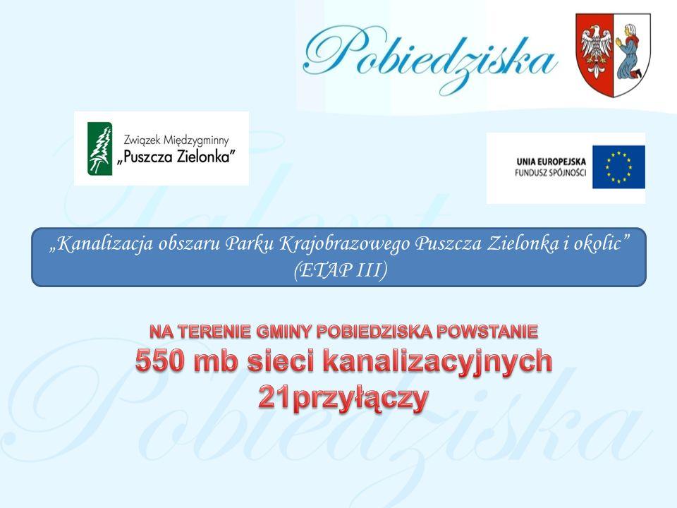 NA TERENIE GMINY POBIEDZISKA POWSTANIE 550 mb sieci kanalizacyjnych