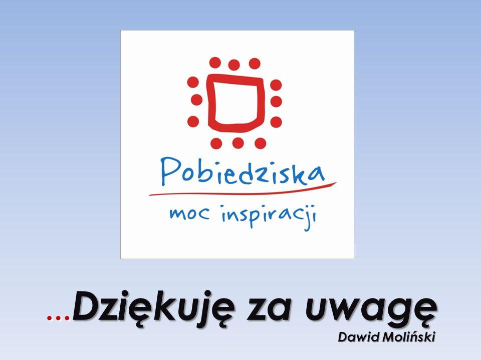 …Dziękuję za uwagę Dawid Moliński