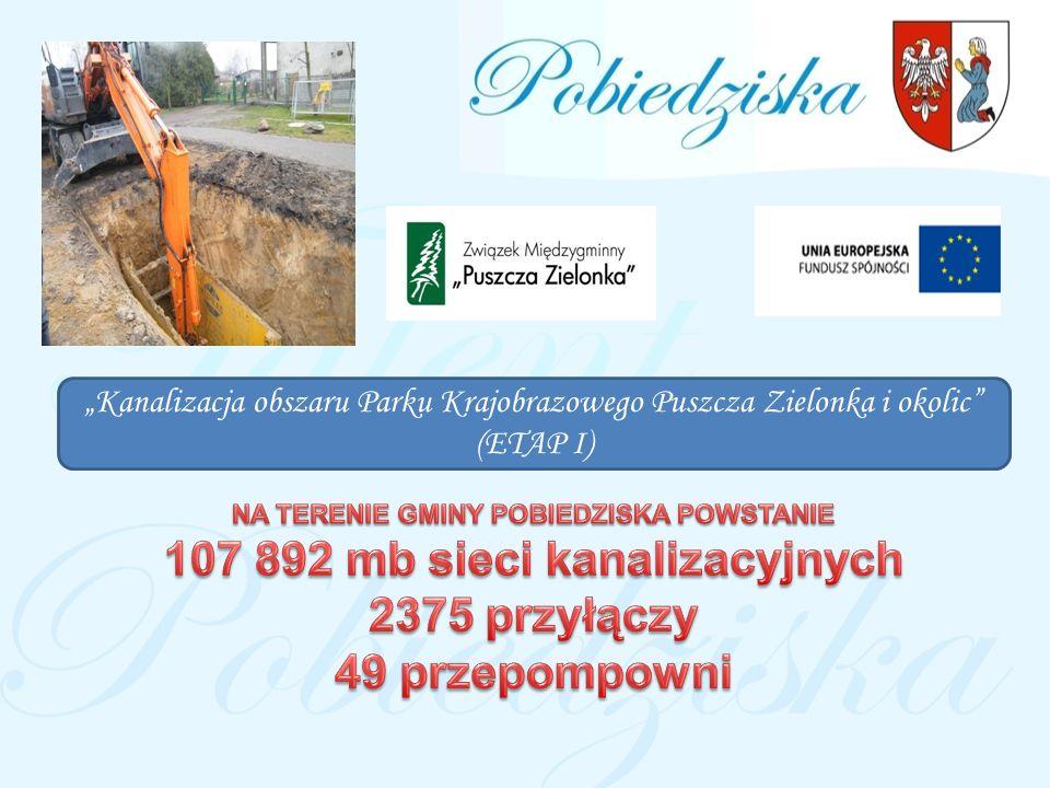 107 892 mb sieci kanalizacyjnych 2375 przyłączy 49 przepompowni