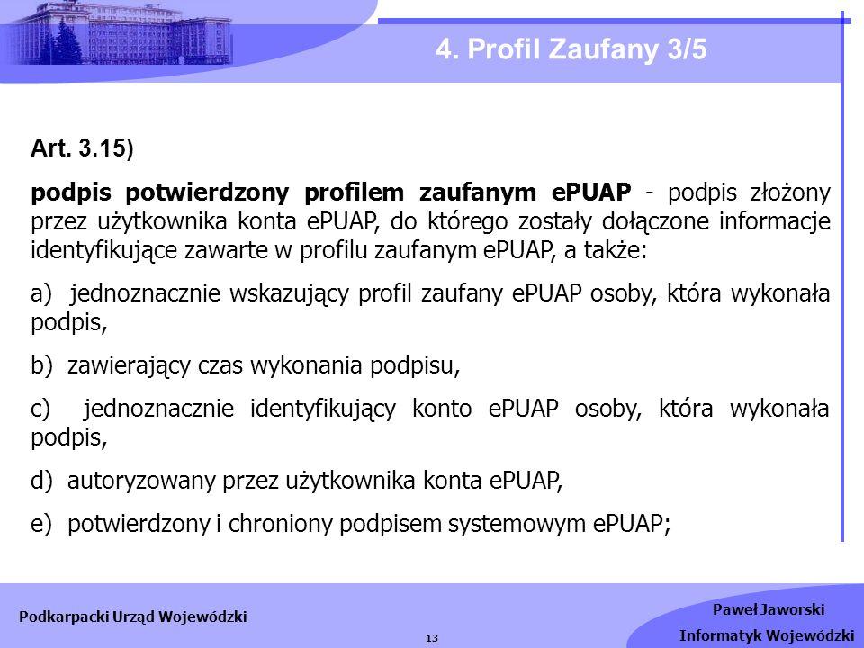 4. Profil Zaufany 3/5Art. 3.15)