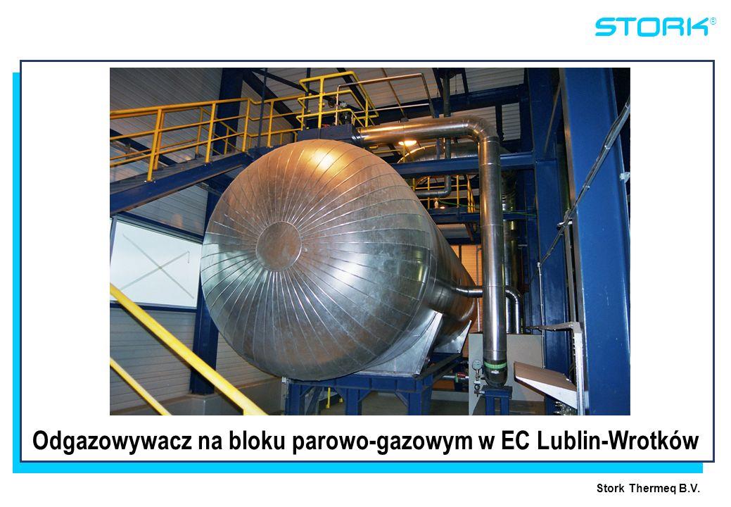 Odgazowywacz na bloku parowo-gazowym w EC Lublin-Wrotków
