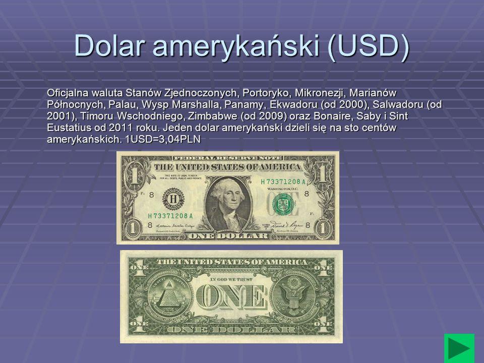 Dolar amerykański (USD)